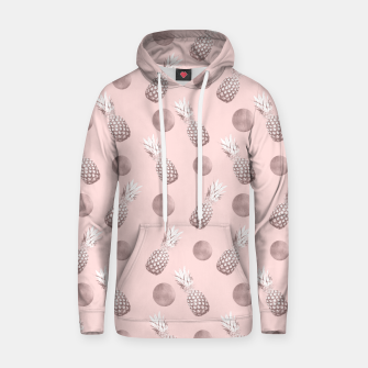 Thumbnail image of Pineapple Pattern with Happy Polka Dots #1 #decor #art  Kapuzenpullover, Live Heroes