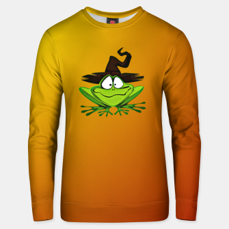 Miniaturka Witch Frog Unisex sweater, Live Heroes