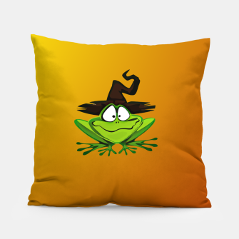 Thumbnail image of Witch Frog Pillow, Live Heroes