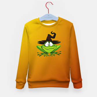 Miniaturka Witch Frog Kid's sweater, Live Heroes