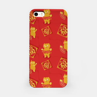 Thumbnail image of Year of the PIg iPhone Case, Live Heroes