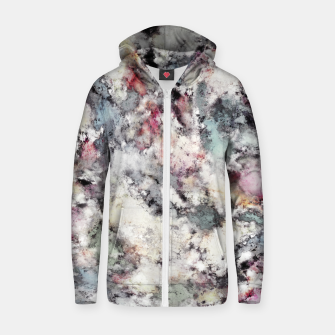 Thumbnail image of Ground frost Zip up hoodie, Live Heroes