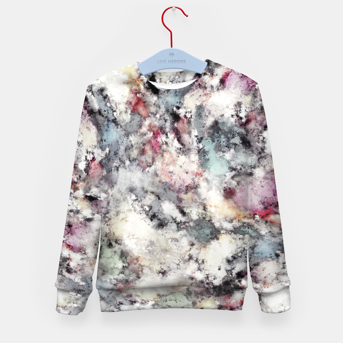 Image of Ground frost Kid's sweater - Live Heroes