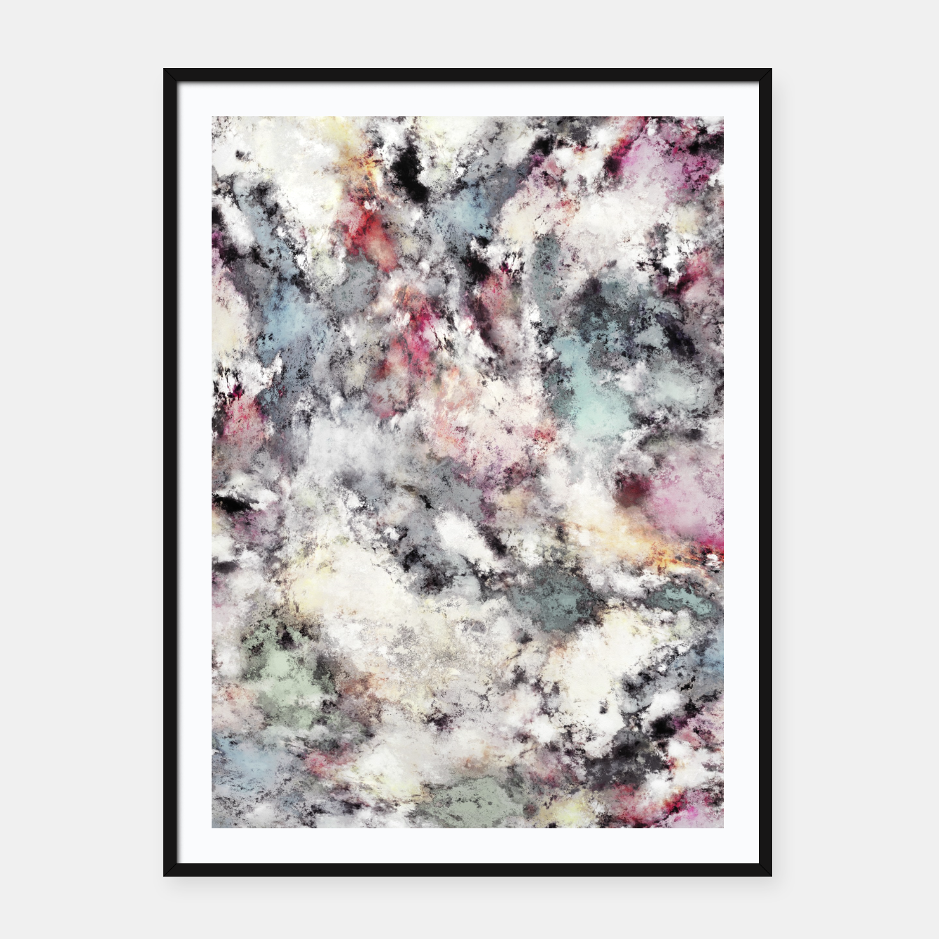 Image of Ground frost Framed poster - Live Heroes