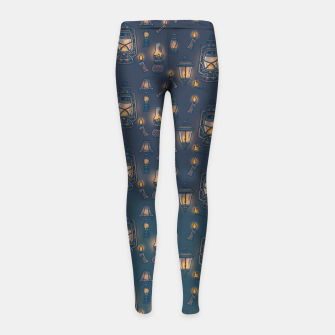 Thumbnail image of Radiance Girl's leggings, Live Heroes