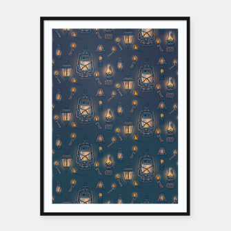 Thumbnail image of Radiance Framed poster, Live Heroes