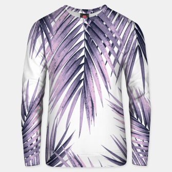 Thumbnail image of Palm Leaf Jungle Vibes #1 #tropical #decor #art  Unisex sweatshirt, Live Heroes