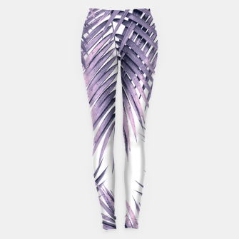 Thumbnail image of Palm Leaf Jungle Vibes #1 #tropical #decor #art  Leggings, Live Heroes
