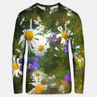 Miniaturka  Chamomile and campanula Unisex sweater, Live Heroes