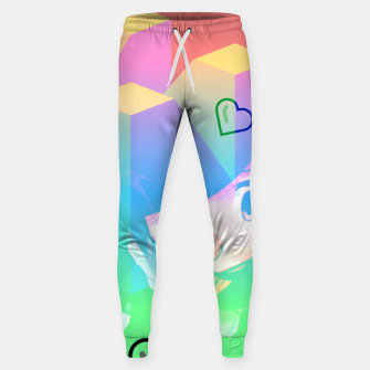Thumbnail image of TomokoMakiHeartN64 Sweatpants, Live Heroes