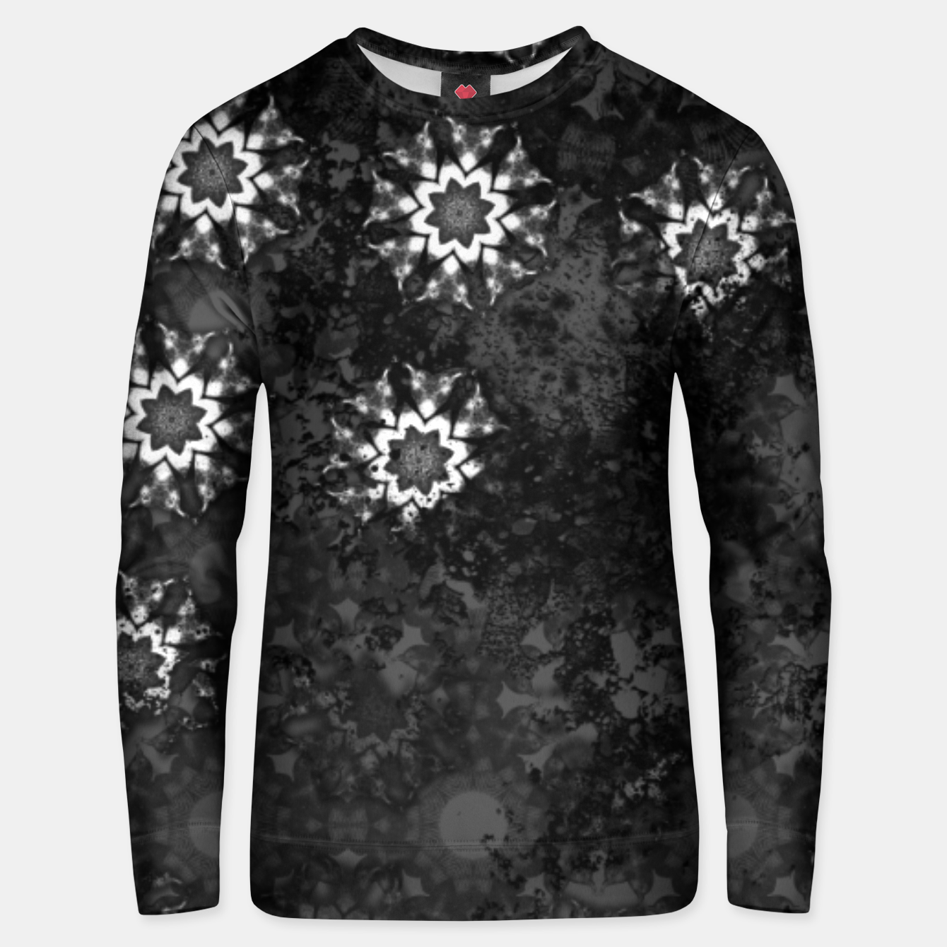 Image of swallow pattern, witch star Unisex sweater - Live Heroes