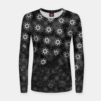 swallow pattern, witch star Women sweater thumbnail image
