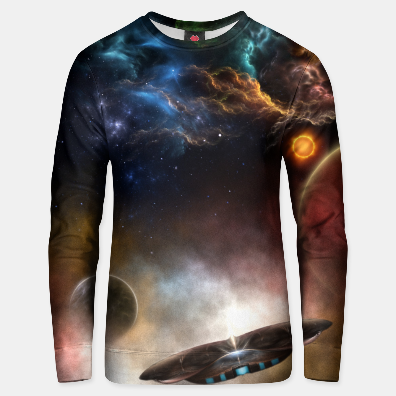 Image of Beyond Space & Time Unisex sweater - Live Heroes