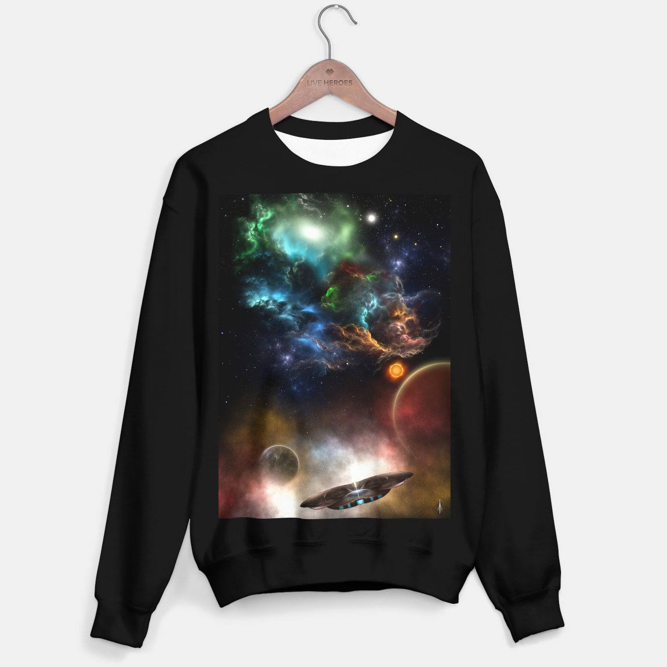Image of Beyond Space & Time Sweater regular - Live Heroes