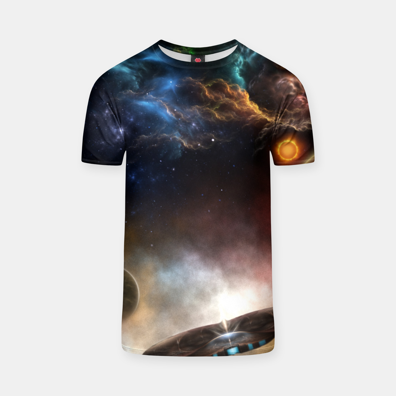 Image of Beyond Space & Time T-shirt - Live Heroes