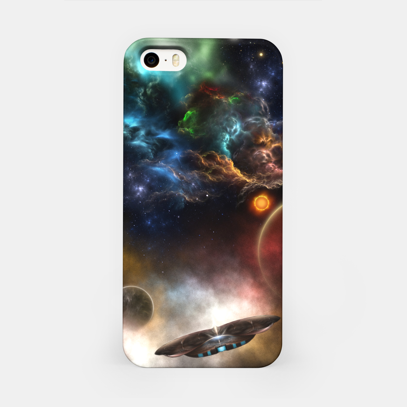 Image of Beyond Space & Time iPhone Case - Live Heroes