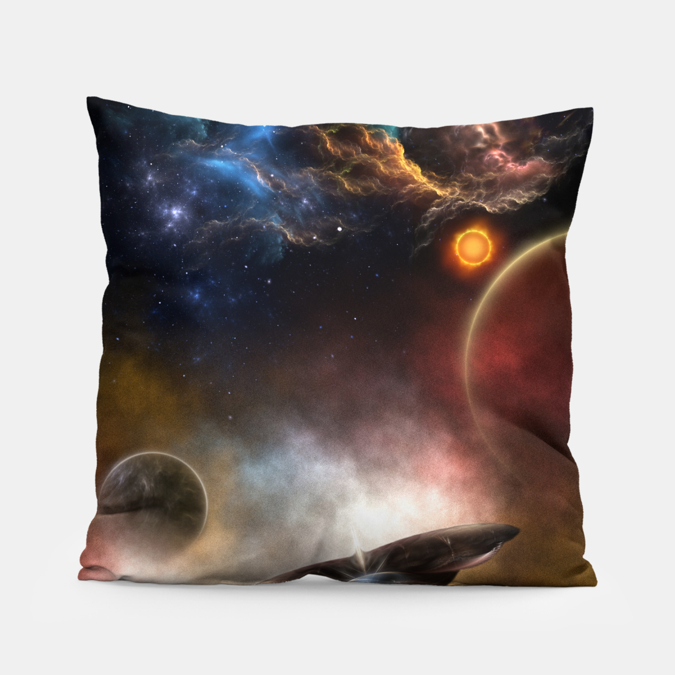 Image of Beyond Space & Time Pillow - Live Heroes