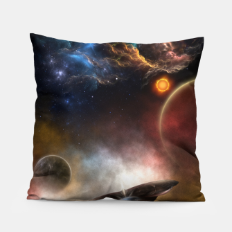 Thumbnail image of Beyond Space & Time Pillow, Live Heroes