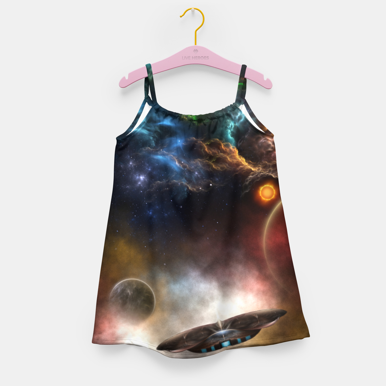 Image of Beyond Space & Time Girl's dress - Live Heroes