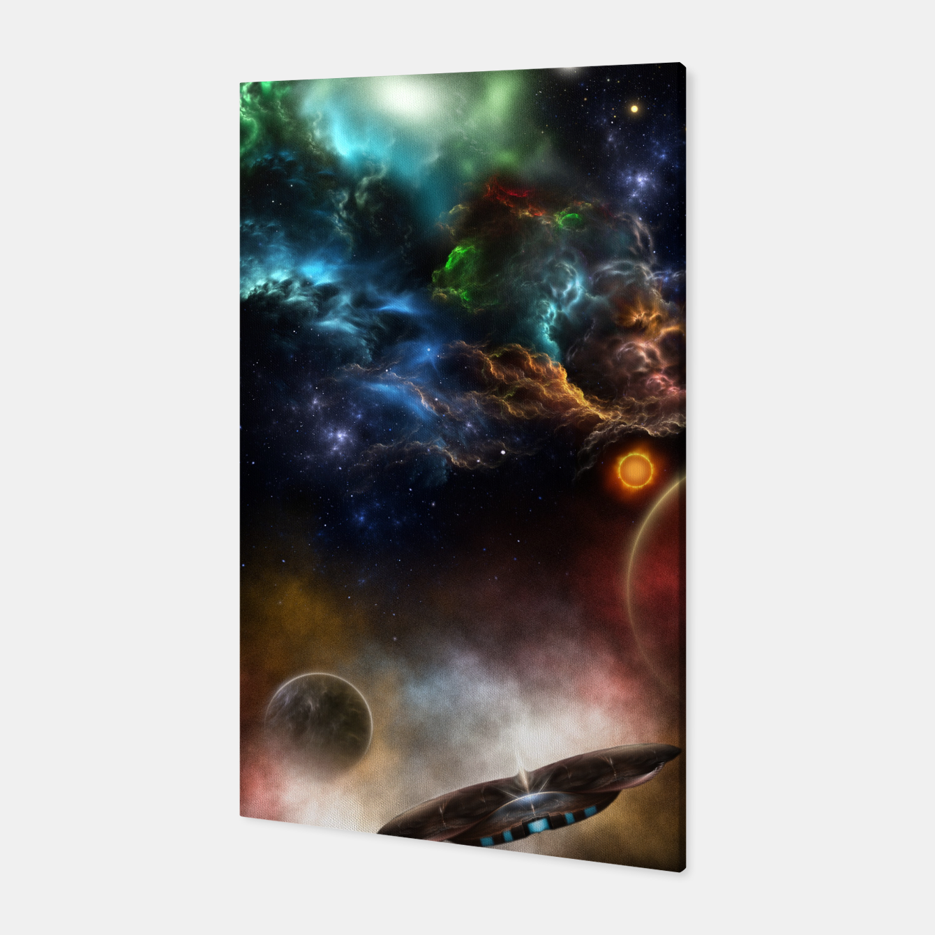 Image of Beyond Space & Time Canvas - Live Heroes