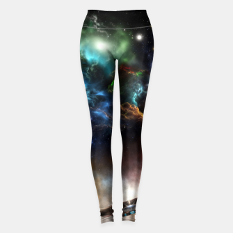 Thumbnail image of Beyond Space & Time Leggings, Live Heroes