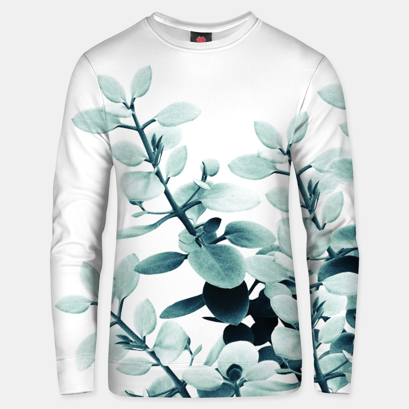 Image of Eucalyptus Leaves Green Vibes #2 #foliage #decor #art  Unisex sweatshirt - Live Heroes