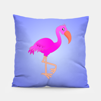Pink Flamingo Pillow thumbnail image