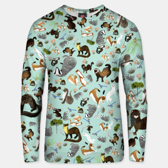 Thumbnail image of Mustelids from Spain Sudadera unisex, Live Heroes
