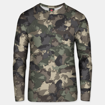 Thumbnail image of Fat cats camouflage Unisex sweater, Live Heroes