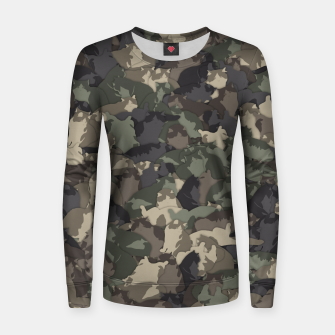 Fat cats camouflage Women sweater thumbnail image