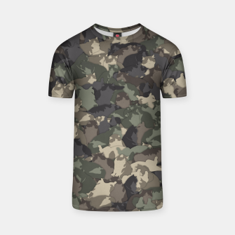 Thumbnail image of Fat cats camouflage T-shirt, Live Heroes
