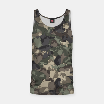 Fat cats camouflage Tank Top thumbnail image