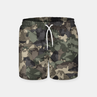 Thumbnail image of Fat cats camouflage Swim Shorts, Live Heroes