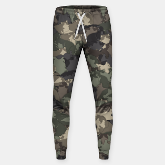 Thumbnail image of Fat cats camouflage Sweatpants, Live Heroes