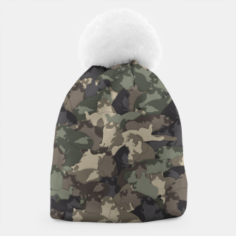Fat cats camouflage Beanie thumbnail image