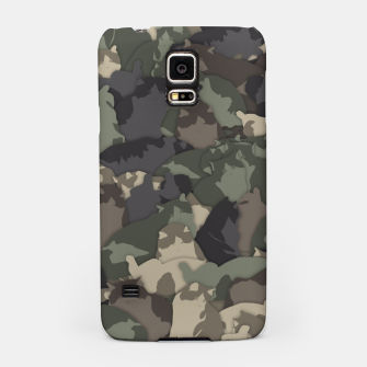 Thumbnail image of Fat cats camouflage Samsung Case, Live Heroes