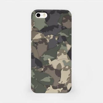 Fat cats camouflage iPhone Case thumbnail image