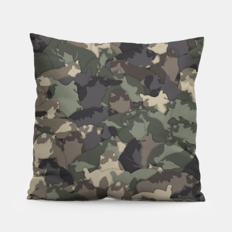 Thumbnail image of Fat cats camouflage Pillow, Live Heroes