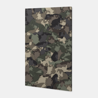 Fat cats camouflage Canvas thumbnail image
