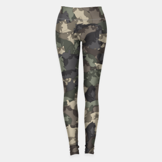 Thumbnail image of Fat cats camouflage Leggings, Live Heroes