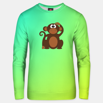 Thumbnail image of Monkey Unisex sweater, Live Heroes
