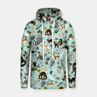 Thumbnail image of Mustelids from Spain Sudadera con capucha, Live Heroes