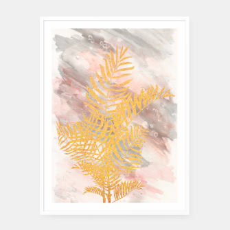 Thumbnail image of Tropical XVIII  Framed poster, Live Heroes