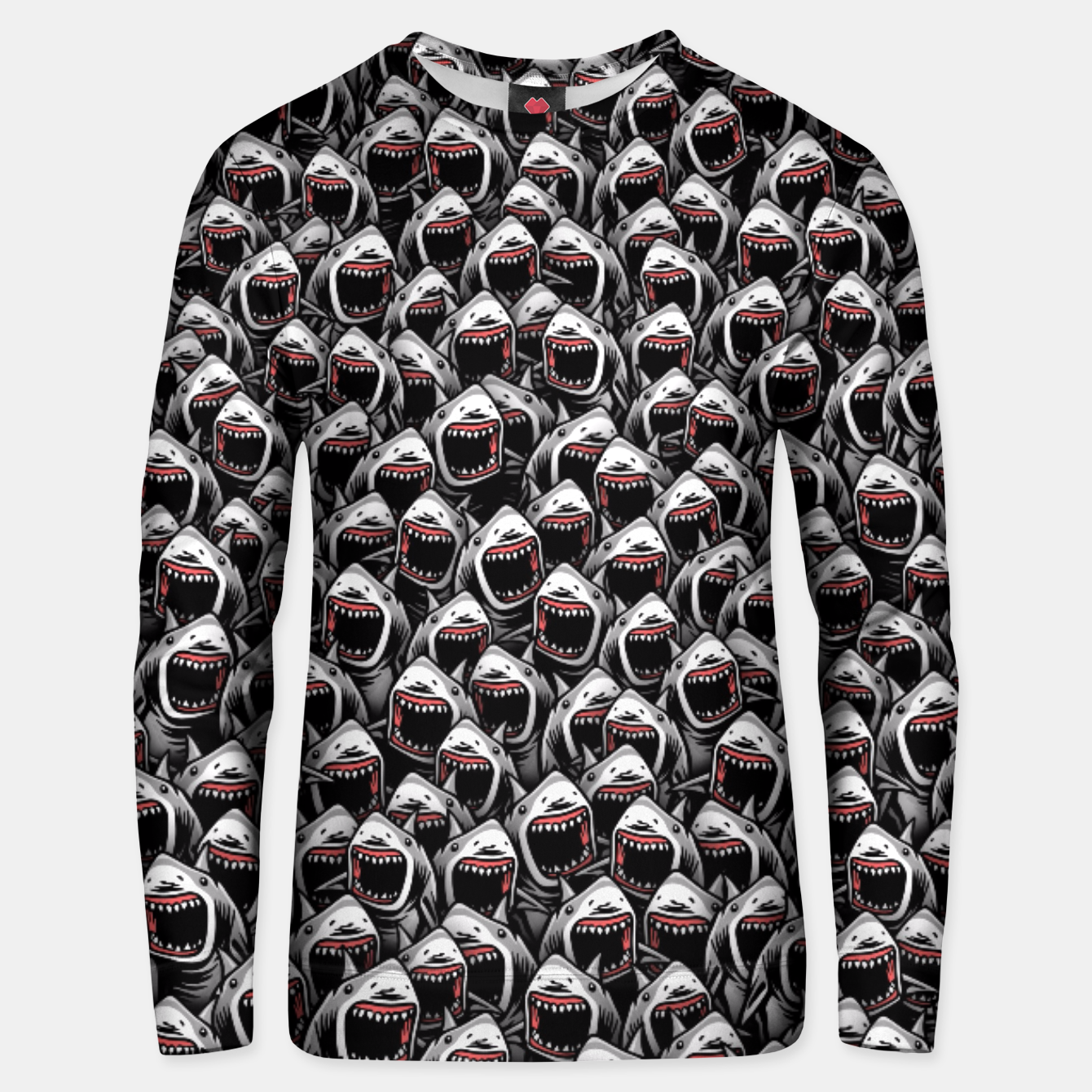 Image of Great white sharks Unisex sweater - Live Heroes