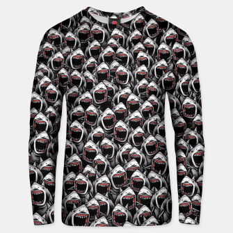 Thumbnail image of Great white sharks Unisex sweater, Live Heroes