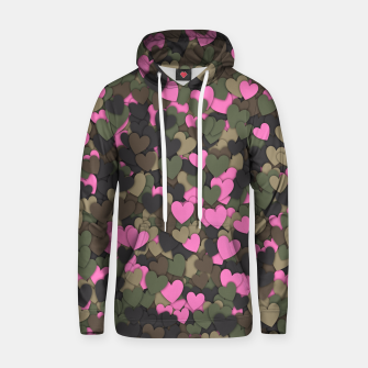 Hearts camouflage Hoodie thumbnail image