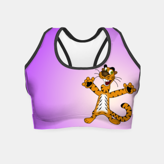 Thumbnail image of Tiger Crop Top, Live Heroes