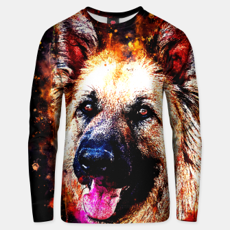 Thumbnail image of german shepherd dog v2ws Unisex sweater, Live Heroes