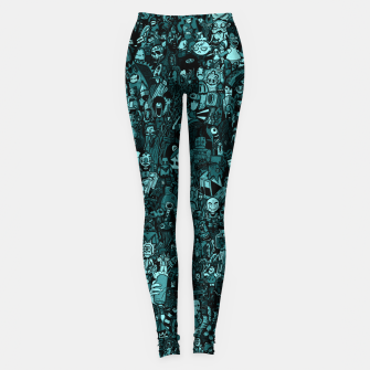 Thumbnail image of Big doodle Leggings, Live Heroes