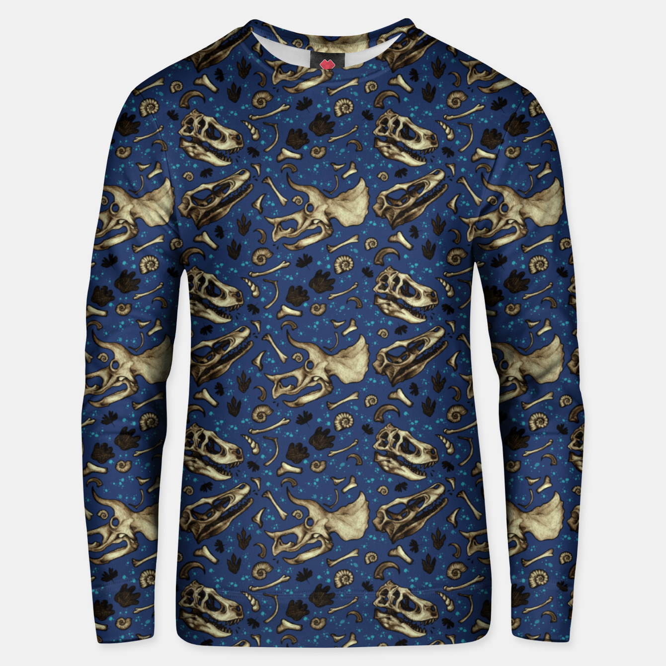 Image of Fossil Bed Pattern Unisex sweater - Live Heroes